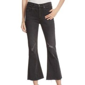 Rag and Bone cropped flared jeans